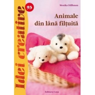 Animale din lana filtuita
