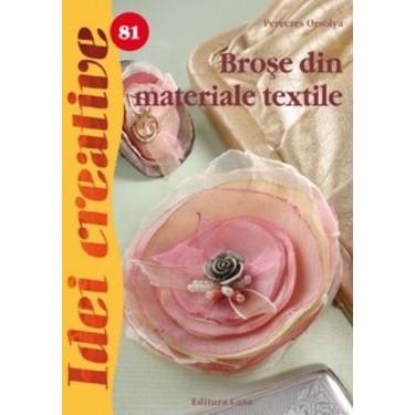 Broşe din materiale textile