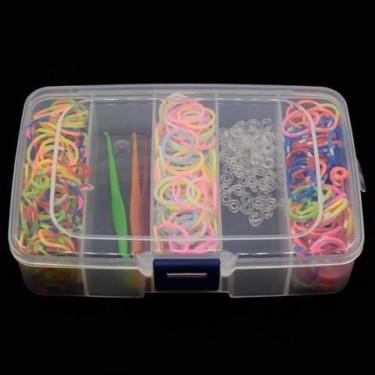 Set benzi elastice (500 buc si accesorii)