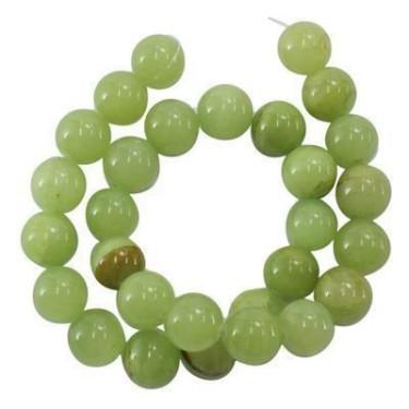 Margele jad verde 12mm