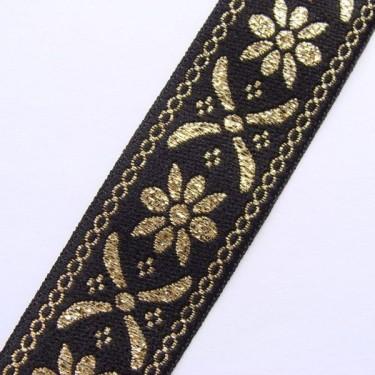 Panglica flori model2 25mm-1metru