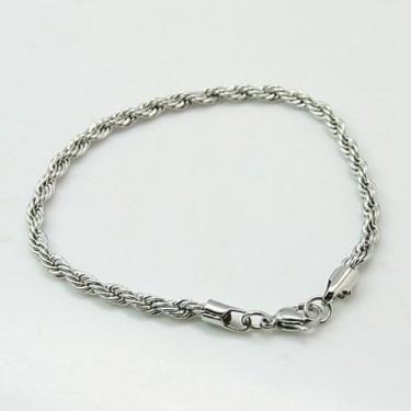 Bratari inox lant argintiu