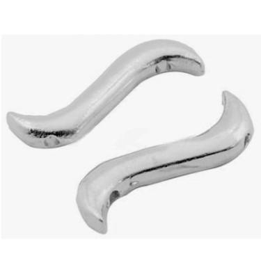 Margele metalice 3*19 - 2 siruri-4buc