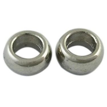Margele metalice 3*6.5mm inel -4buc