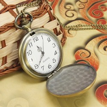 Ceasuri de buzunar cu lant, emailate