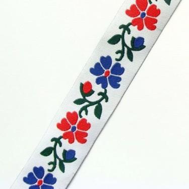Panglica flori model7 24mm -1metru