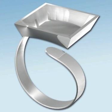 FIMO baza inel patrata 18*18mm