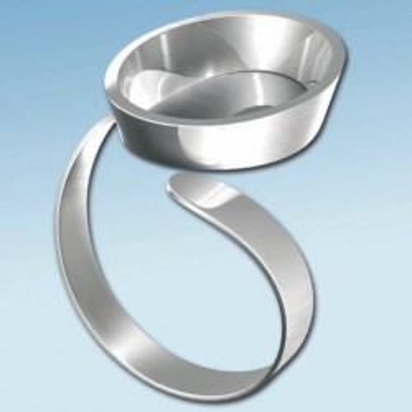 FIMO baza inel ovala 20*14mm