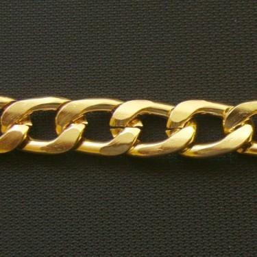 Lant genti auriu 10*3mm-1m