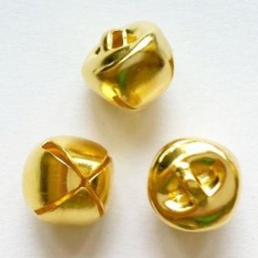 Charmuri clopotei 10*11mm aurii -4buc