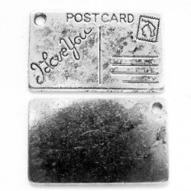 Charmuri carte postala 25*16mm -1buc