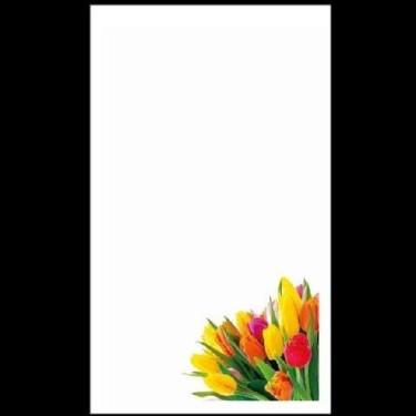 Cartoane martisoare 5.4*8.9 -100buc lalele