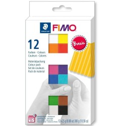 FIMO Soft - set 12 culori -300g 8023C12-1