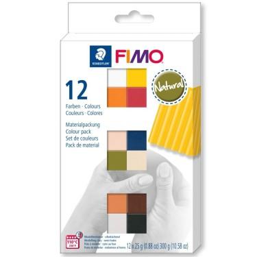 FIMO Soft - set 12 culori -300g 8023C12-4