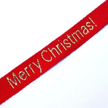Panglica Mery Christmas 15mm