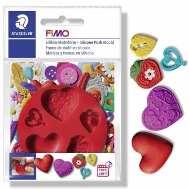 FIMO matriță 872523 inimioare