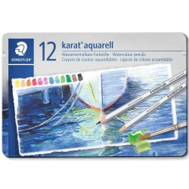 Culori acuarela Staedtler -set 12 creioane 125 M12