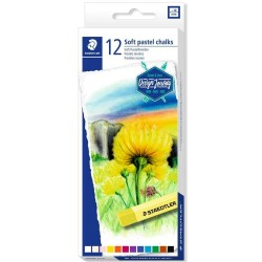 Culori pastel Staedtler -set 12 batonașe 2430 C12