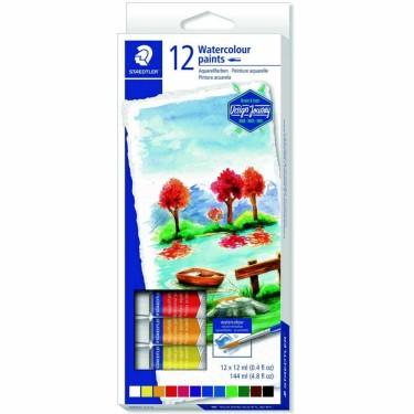 Culori acuarela Staedtler -set 12 tuburi 8880 C12