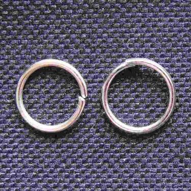 Zale 7mm argintii