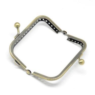 Cadru poșetă  125*65 mm argintie