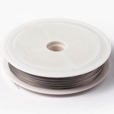 Sârmă siliconată argintie 0,38 mm