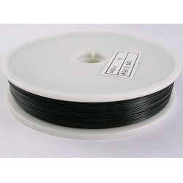 Sârmă siliconată colorată negru