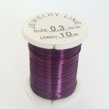 Sârmă modelaj 0,3 mm indigo