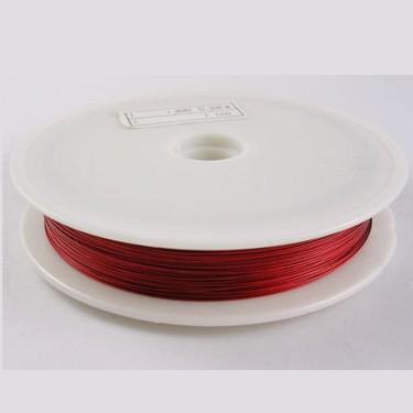 Sârmă modelaj 0,3 mm roșu închis