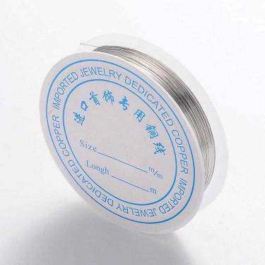 Sârmă modelaj 1 mm argintie