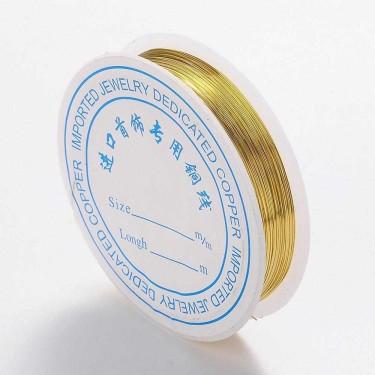 Sârmă modelaj 0,5 mm auriu