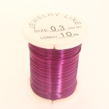 Sârmă modelaj 0,5 mm purpuriu
