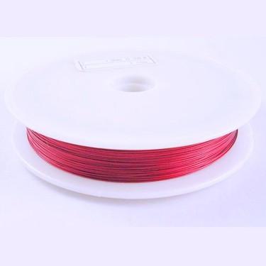 Sârmă modelaj 0,5 mm roșu carmin deschis