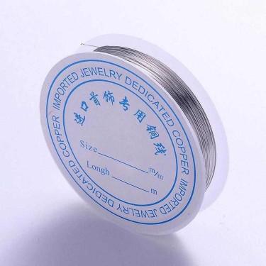 Sârmă modelaj 0,5 mm argintiu nichel