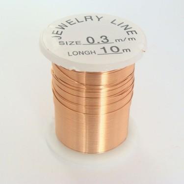 Sârmă modelaj 0,8 mm cupru deschis