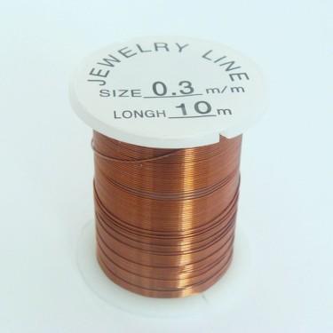 Sârmă modelaj 0,8 mm maro