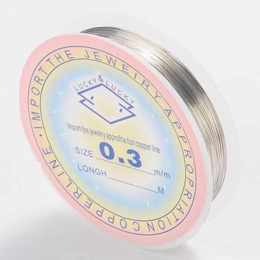 Sârmă modelaj 0,6 mm argintiu silver