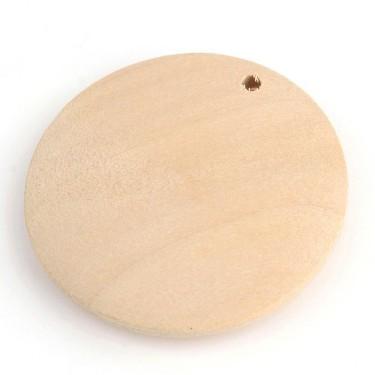 Baza pandantiv lemn blank 30mm