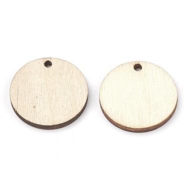 Bază pandantiv lemn blank