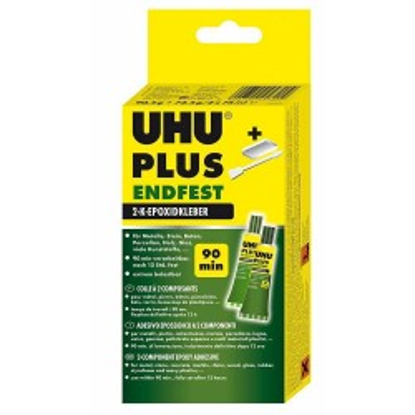 Adeziv UHU epoxy bicomponent 163g 45630