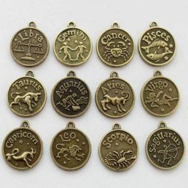 Set complet de 12 charmuri cu zodii