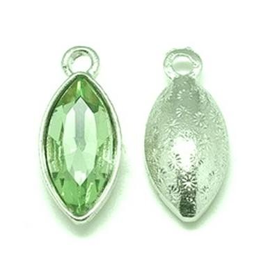 Pandantiv sticlă verde