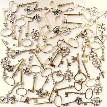 Mix charmuri cheițe argintii