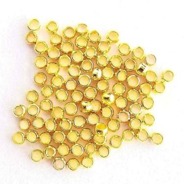 Crimpi 3 mm aurii