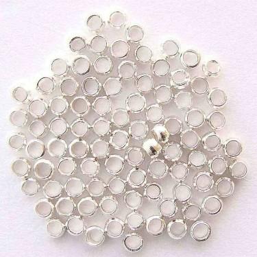 Crimpi 3 mm silver