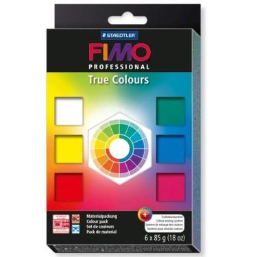 FIMO  Professional - set 6 culori -510g