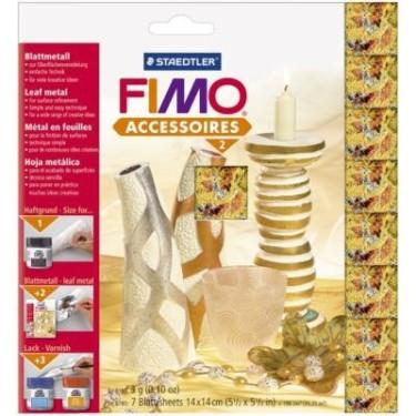 FIMO foite metal fulgi