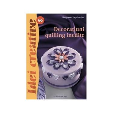 Decoratiuni quilling inedite
