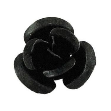 Margele  aluminiu 6mm -10buc
