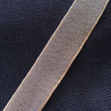 Panglica metalizata 17mm -1metru